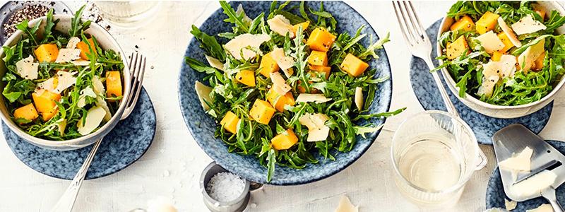 Herb trifft süß - Mango-Rucola-Salat